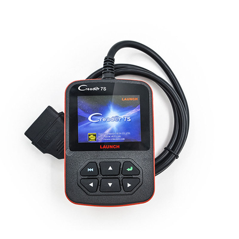 Launch X431 Scan Tool 7S OBD2 Code Reader , Oil Reset Function Multi - language